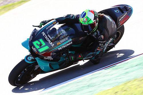 MotoGP, Barcellona, Libere 2: Morbidelli vola, Dovizioso crolla