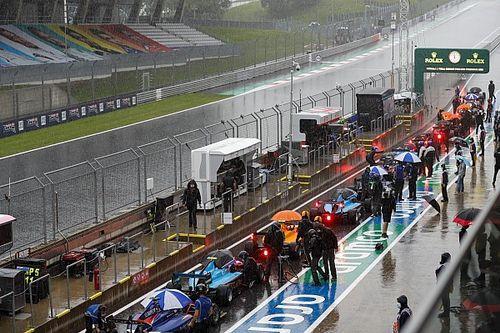 La lluvia acortó la carrera de F3 en Austria y amenaza la F1