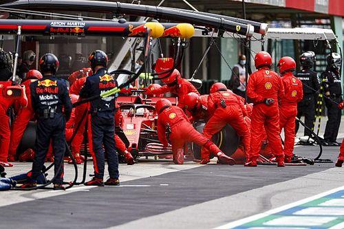"""Vettel: """"O outro carro é muito mais rápido, não sou idiota"""""""
