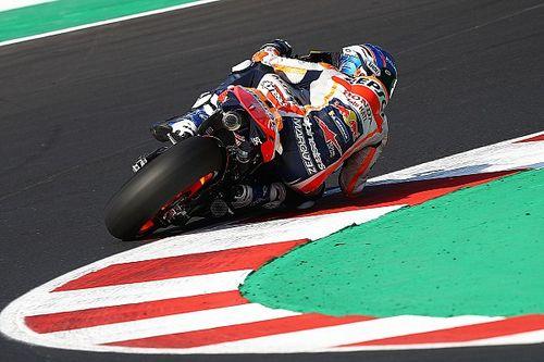 """MotoGP: Márquez classifica moto da Honda como """"fora de controle"""" em classificações"""