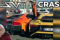 Ilyen bizarr balesetet is rég láttunk: a főszerepben két Lamborghini