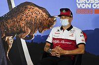 "Raikkonen struggling to ""keep up"" with son in rental karts"
