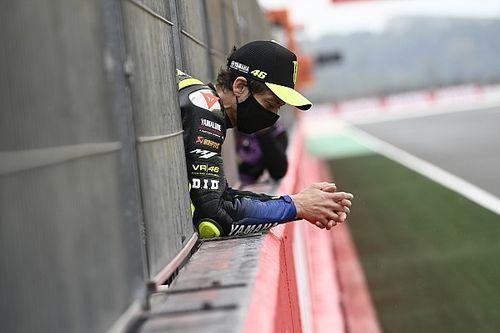 Rossi za kierownicą Ferrari