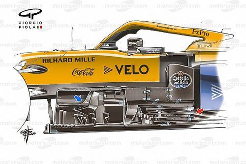 Технический анализ: Доработки, которые сделали McLaren сильнее