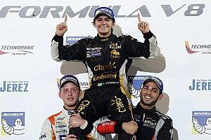 Pietro Fittipaldi é 2º no Bahrein e conquista título da F-V8