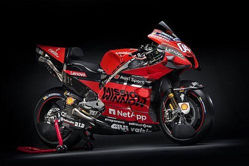 Ducati présente sa GP20 à Bologne