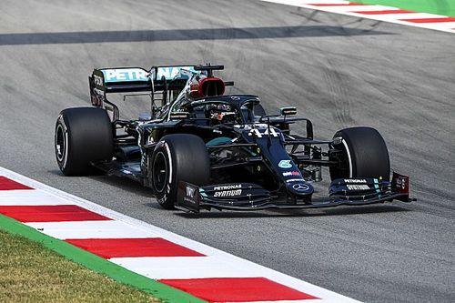 İspanya GP 2. antrenman: Hamilton lider, Mercedes 1-2