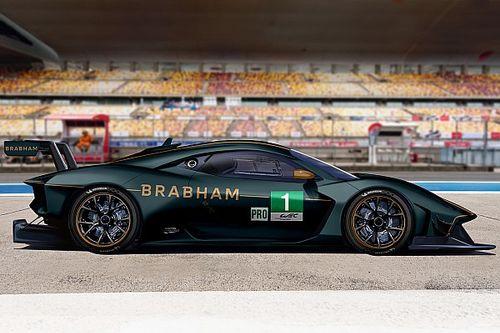 Brabham bezig met deelname aan 24 uur van Le Mans