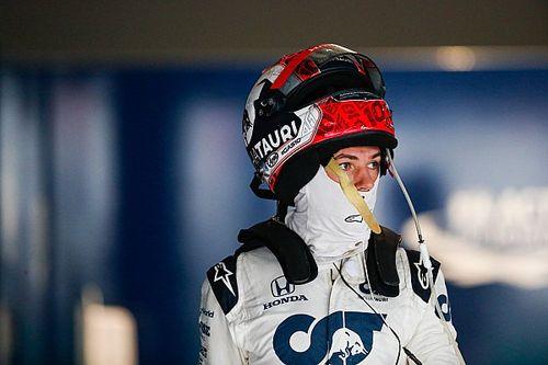 Gasly kritikusan válaszolt, amikor a Red Bull-ülésről kérdezték