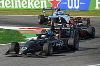 فورمولا 3: هيوز يفوز بالسباق الدرامي في مونزا وبياستري وسارجينت ينسحبان