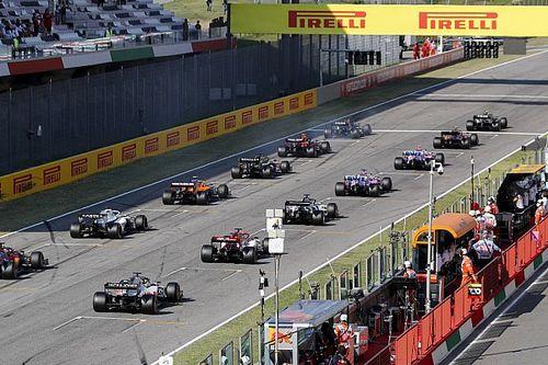 Mercedes explains Hamilton brake fire on Mugello grid