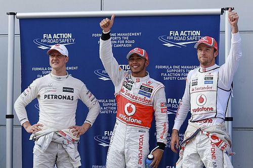 GALERÍA: Lewis Hamilton y sus 98 pole position