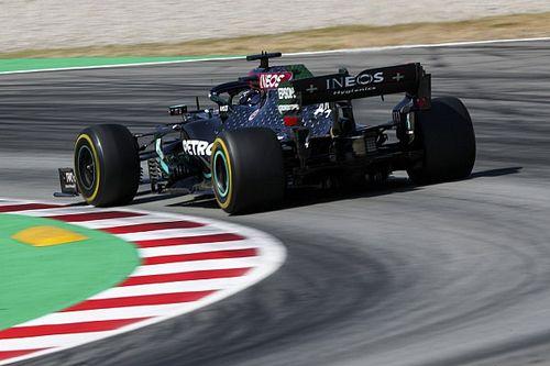 Хэмилтон на 0,059 секунды опередил Боттаса в споре за поул Гран При Испании