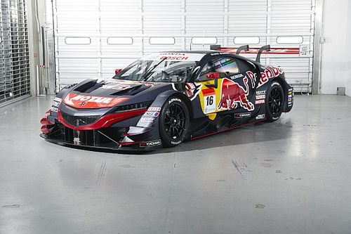 Mugen unveils Red Bull livery for new Super GT season