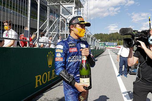 Norris diz que não sabia de punição a Hamilton nas últimas voltas
