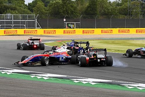 Drugo é 7º em GP marcado por 'xingão' na F2; F3 tem batida forte