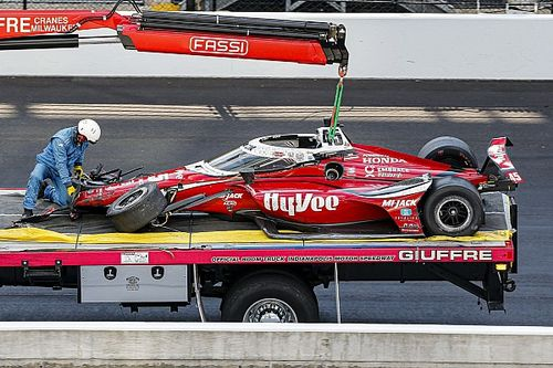 "Spencer Pigot ""remembers everything"" of Indy 500 horror crash"