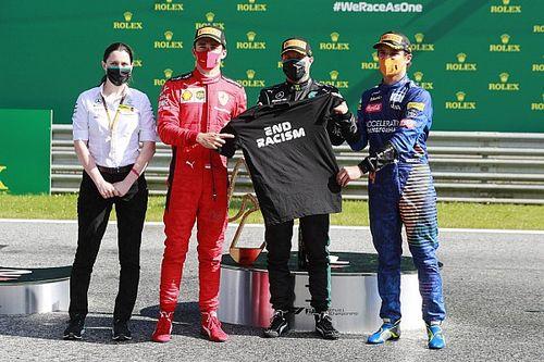 Avusturya GP: Kaos dolu yarışı Bottas kazandı, Norris podyuma çıktı!