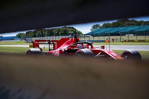 EL2 - La Ferrari de Vettel rend l'âme, Hamilton déroule