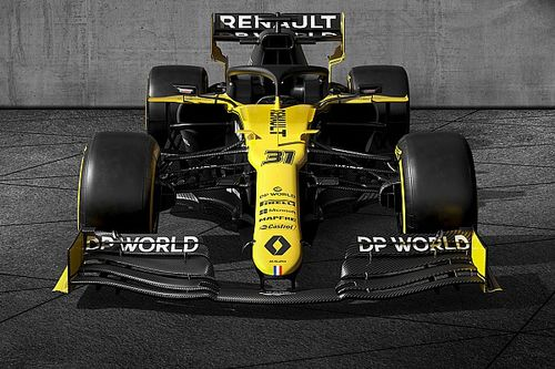 Renault unveils 2020 F1 livery, new title sponsor