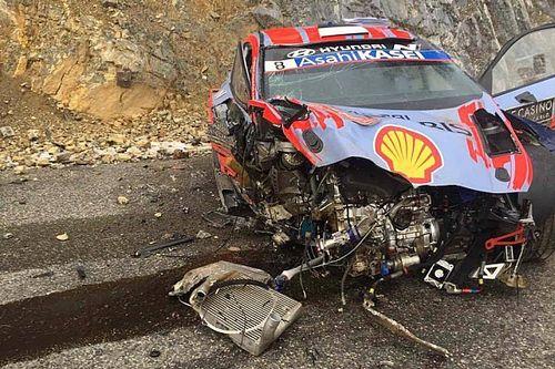 Tanak explica su terrible accidente en Montecarlo