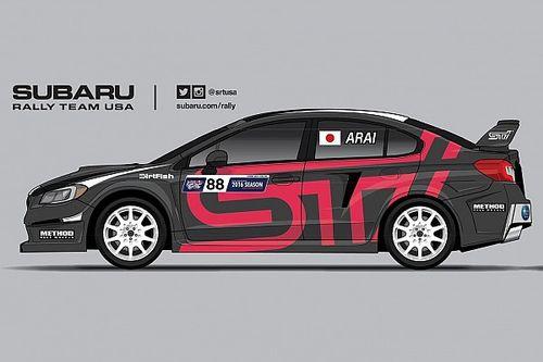 新井敏弘、スバルWRX STIでグローバル・ラリークロス参戦決定