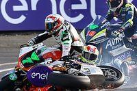 GALERÍA: accidentada carrera de MotoE en Le Mans