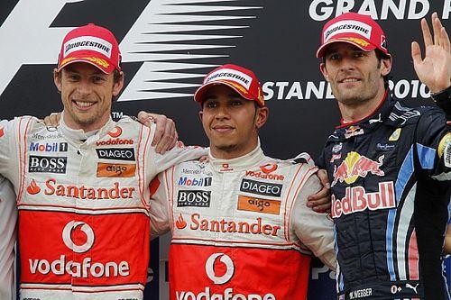 """Button: """"Hamilton yarıştığım en temiz pilottu"""""""