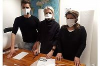 Вместо гоночных шин итальянская компания начала выпускать медицинские маски