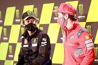 Rossi sorprendido por la salida de Dovizioso de Ducati