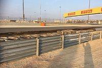 FIA modifies barrier hit by Grosjean in Bahrain