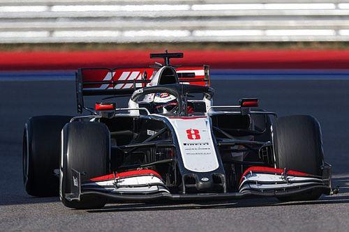 "Grosjean : Haas a ""moins de pièces neuves"" que d'habitude"