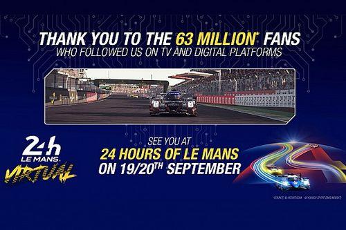 Sanal Le Mans 24 Saat yarışında izlenme rekorları kırıldı