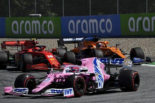 Sergio Pérez: perdimos el podio por la estrategia