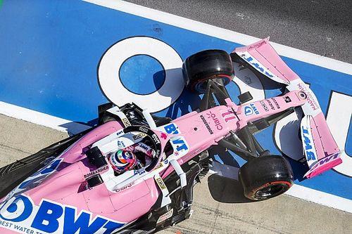 Pérez pokolian gyors volt a Racing Poiont-Mercedesszel, még a McLarennek is