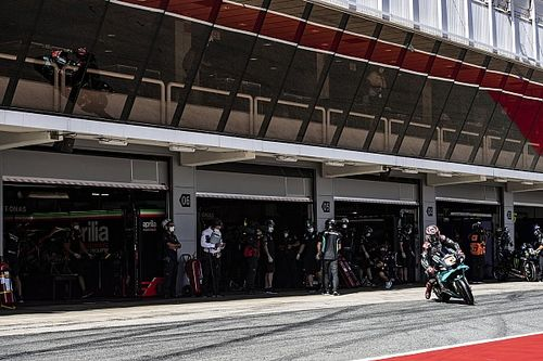 WK-stand na de MotoGP Grand Prix van Catalonië