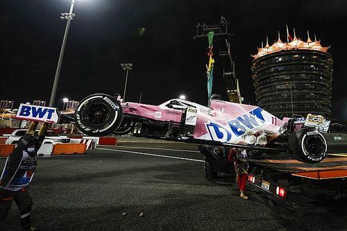 Pérez relativise son cruel abandon après l'accident de Grosjean