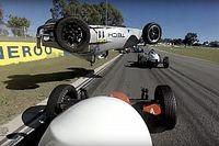 Formula Vee serisinde korkutan kaza