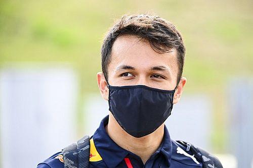 Albon, Red Bull'daki geleceğiyle alakalı haberleri okumuyor