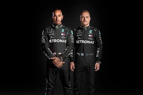 Mercedes'in yeni yarış tulumları ortaya çıktı