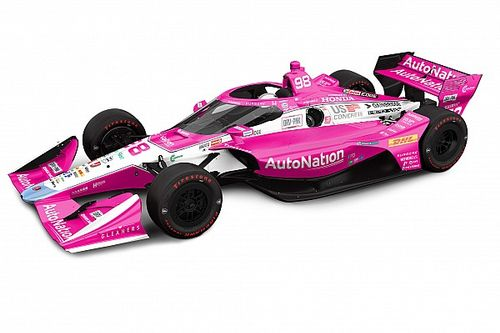 "Special ""Drive Pink"" livery for Andretti in Harvest GP"
