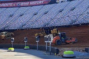 NASCAR: Bristol vê transformação avançada para quebrar hiato de 51 anos
