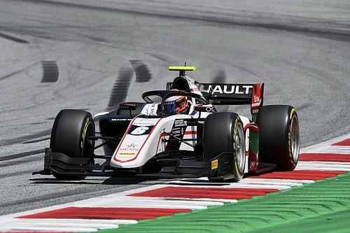 Red Bull Ring F2: Sprint yarışını Lundgaard kazandı