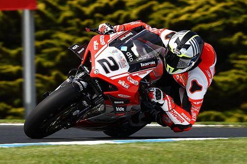 Camier splits with Barni Ducati WSBK team