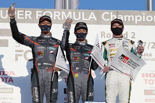 石浦宏明、SF19導入後初の表彰台「2台揃ってハイペースで走れたことが良かった」