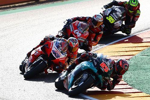 Le problème de Quartararo en Aragón identifié par Michelin