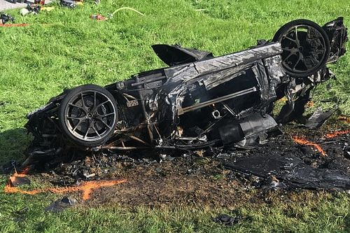 Richard Hammond airlifted to hospital after hillclimb crash