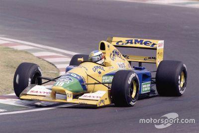 Leilão da Benetton de Michael Schumacher