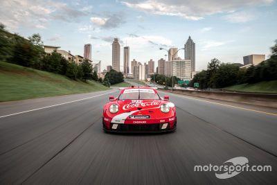 Porsche Coca-Cola livery