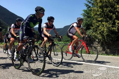 Cycling tour with Jorge Lorenzo and Nairo Quintana